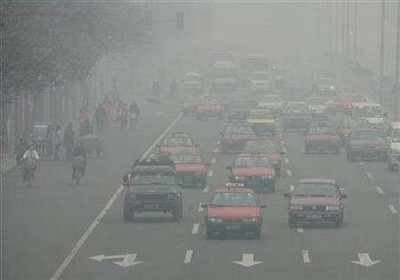 beijing car pollution