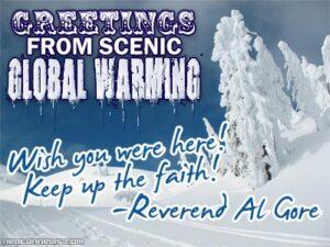 Varma hälsningar från Al Gore
