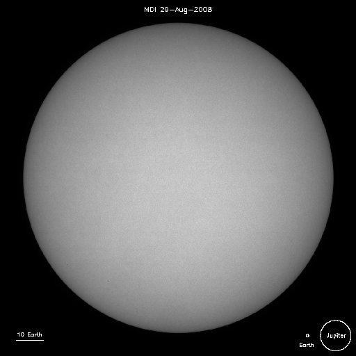 sunspots 29 aug