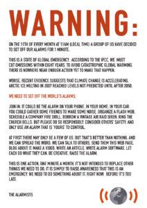 På tal om alarmism