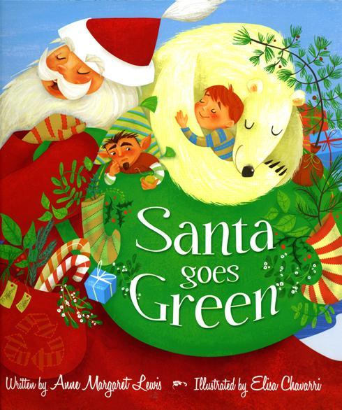 santa green