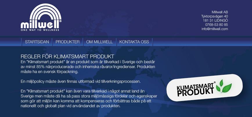 Klimatsmarta produkter