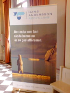 Hans Andersson Recycling - annons