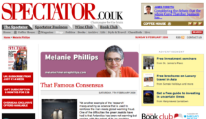 Melanie Phillips i The Spectator