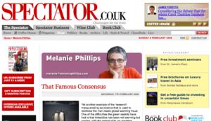 Melanie Phillips i The Spectator