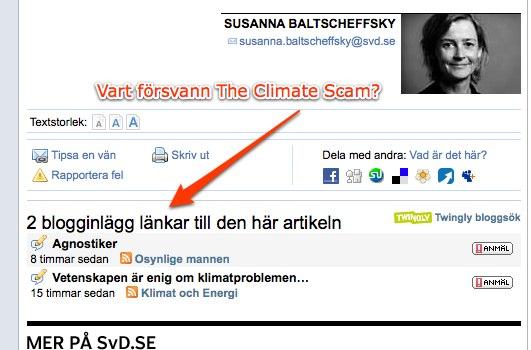 """SvD """"censurerar"""" blogglänkar"""