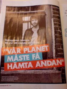 James Blunt, musiker och miljöaktivist