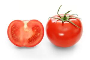 En vanlig tomat