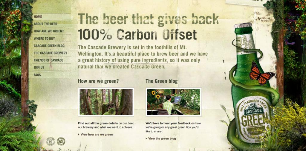 Rädda planeten - drick mer öl.