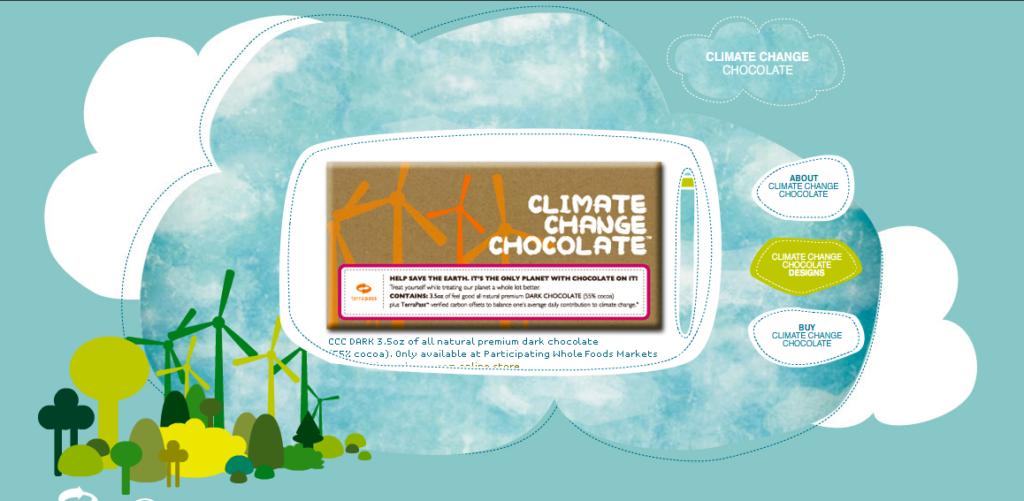 Rädda jorden - ät mer choklad!