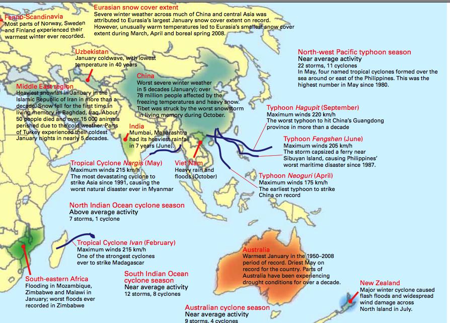 WMO status 2008 del 2