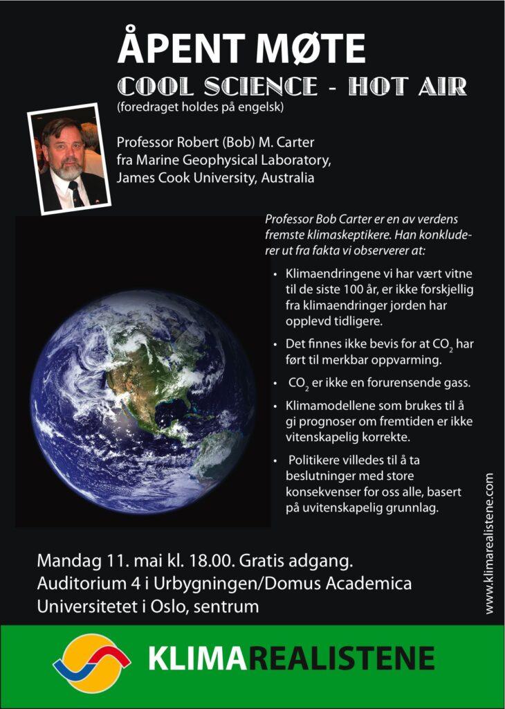 Bob Carter i Oslo 090511