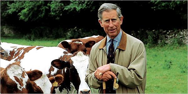 Prins Charles - organisk bonde och författare