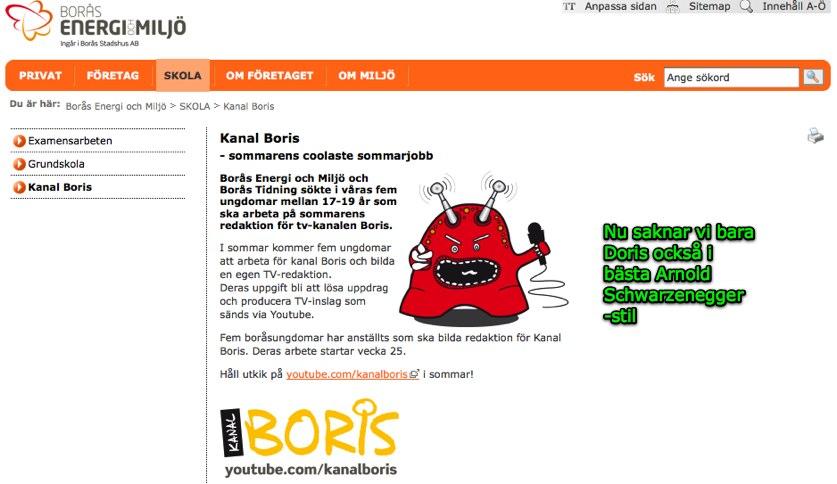 Kanal Boris