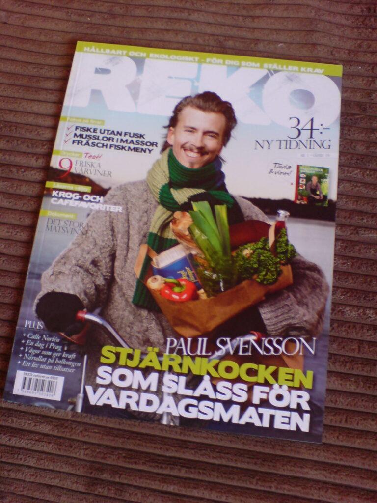 REKO- tidskriften från Krav