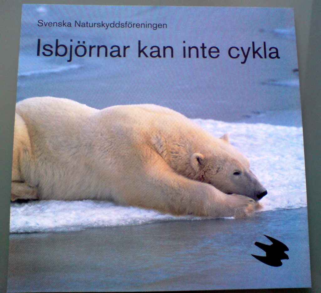Isbjörnar kan inte cykla