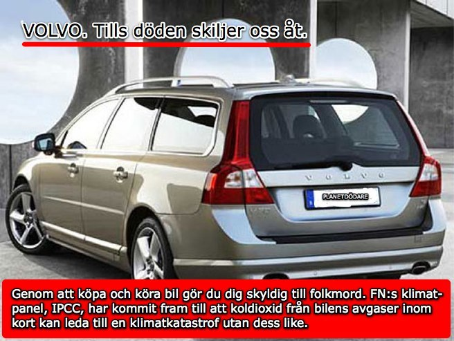 Bilen är en klimatbov