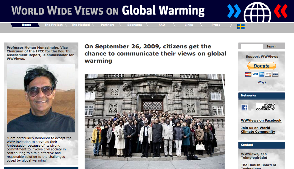 WWV on Global Warming