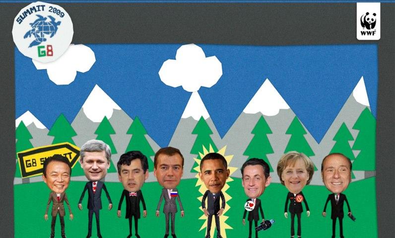 G8 möts i Italien i juli 2009