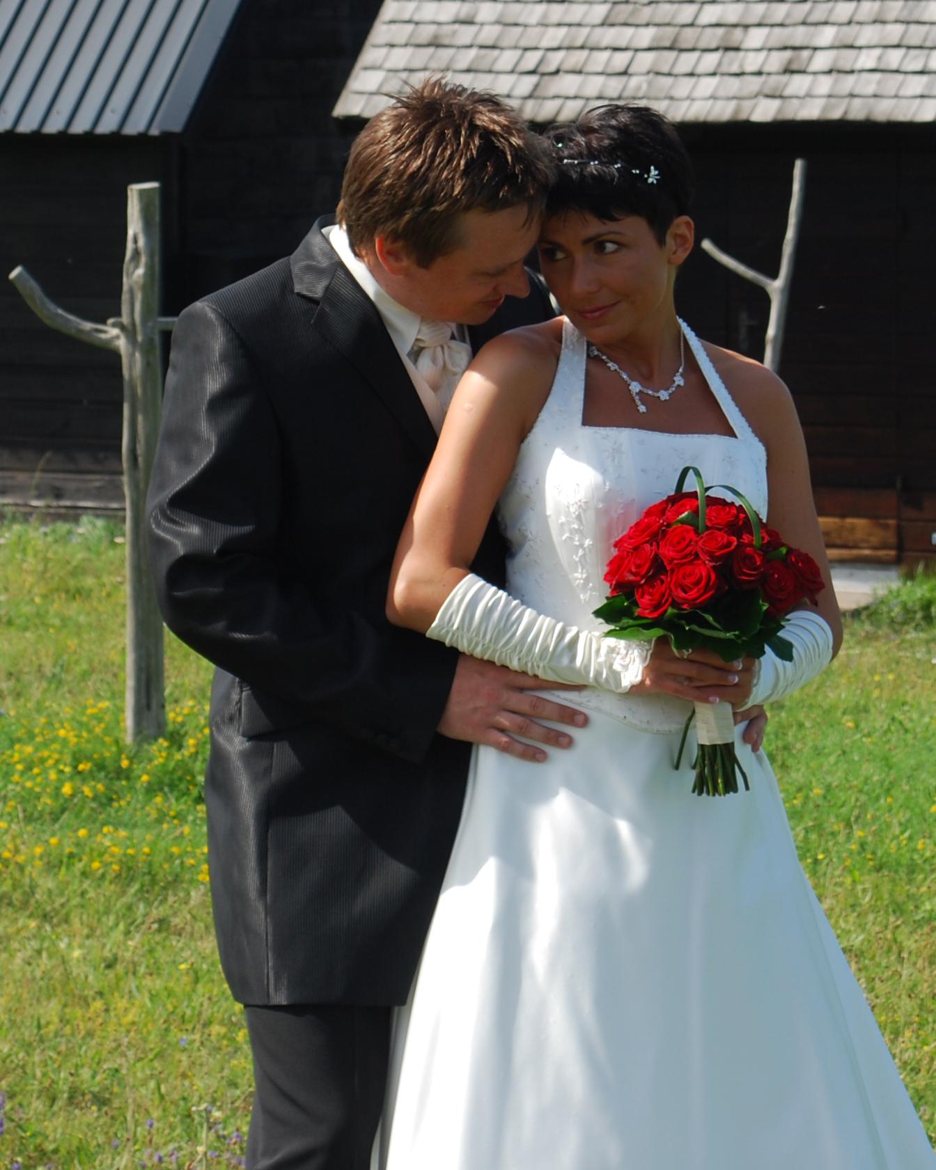 Maggie och Cristoffer i Djupvik
