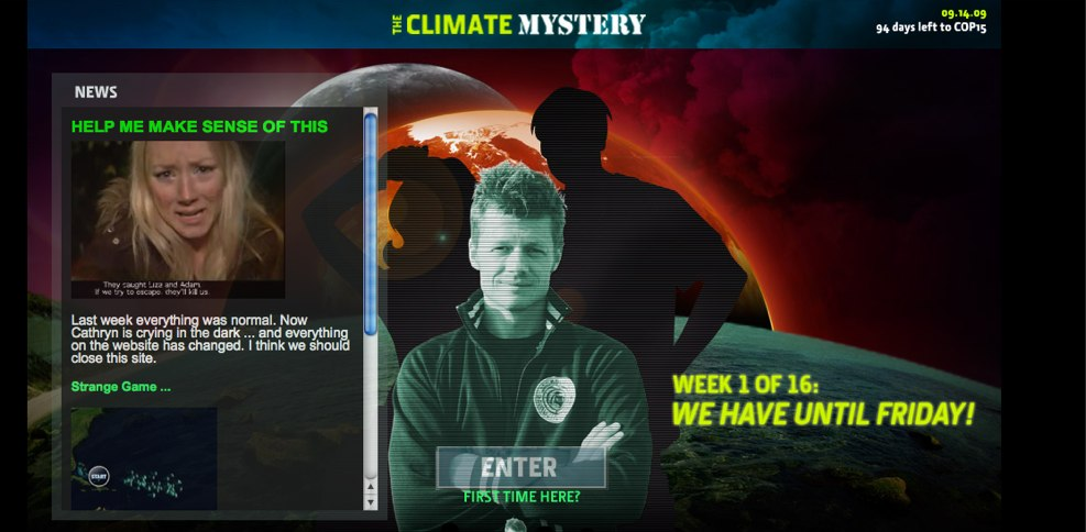 The Climate Mystery
