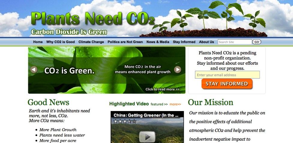 plants need co2