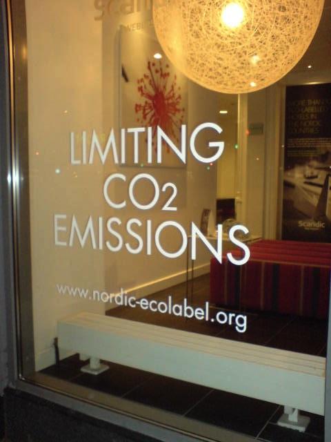 Överallt denna koldioxid