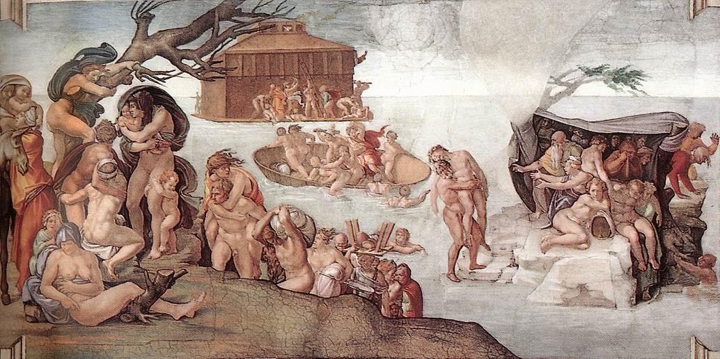 Michelangelo - Syndafloden
