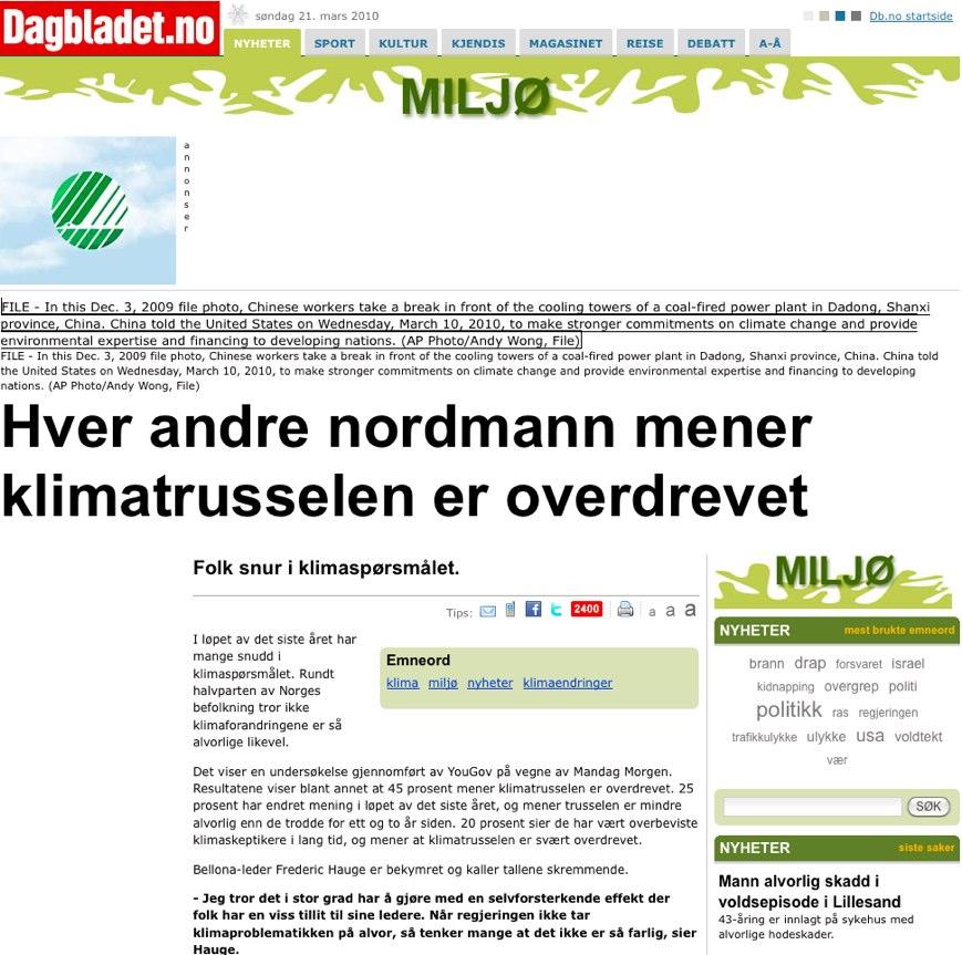 Dagbladet 100321