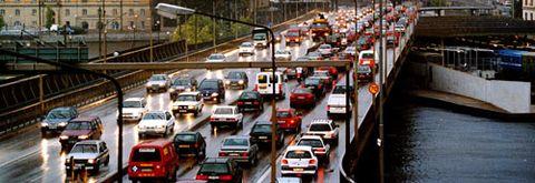 Trafikköer i Stockholm
