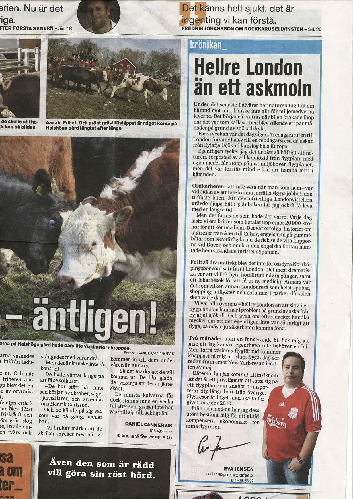 extra östergötland 26 april