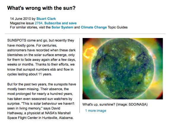 What s wrong with the sun New Scientist 1.pdf page 1 of 5