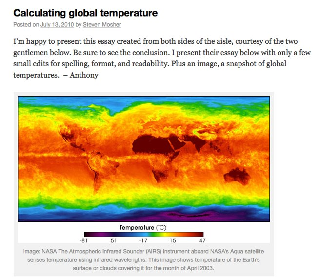 Calculating global temperature | Watts Up With That?