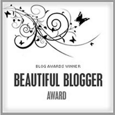 beautiful blogger aword