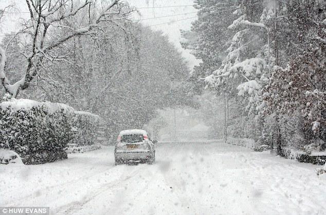 snöigt england