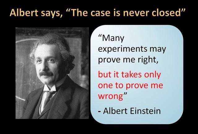 Einstein om vetenskaplig metod