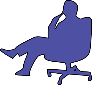 man in chair thinking 01 svg med