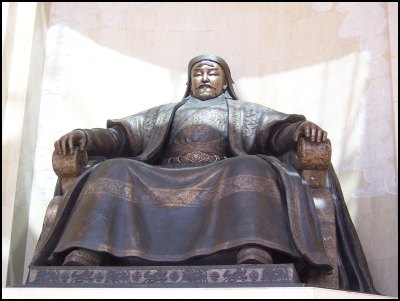 u genghis khan monument