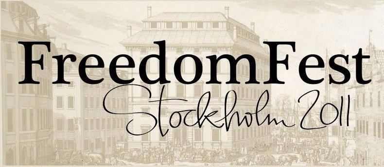 FreedomFest Stockholm 2011