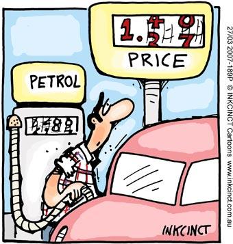 2007 189P petrol price rise