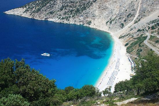 myrtos bay kefalonia 72114157