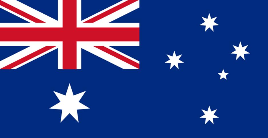Australiens flagga1
