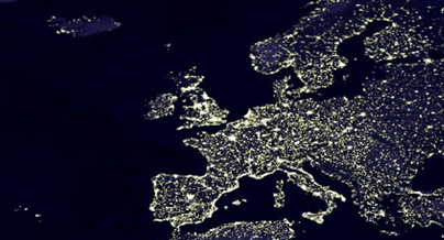 Europa by night