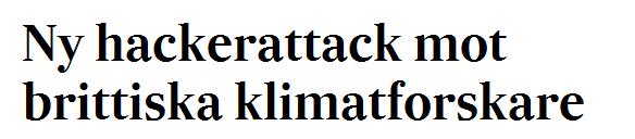 Climategate 2