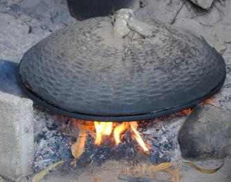 matlagning öppen eld