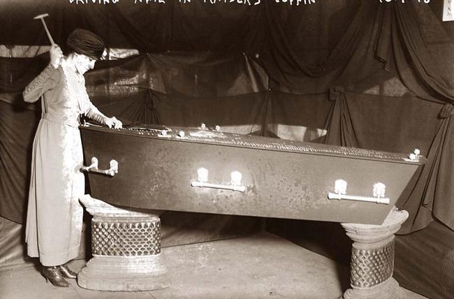 Driving Nail Coffin