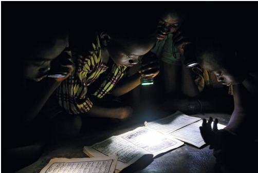 Läsa i mörker