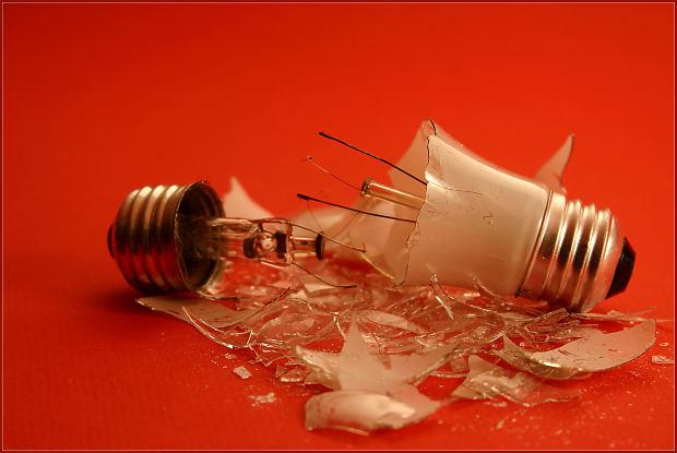 glödlampans död