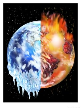 earth-melting-global-warming
