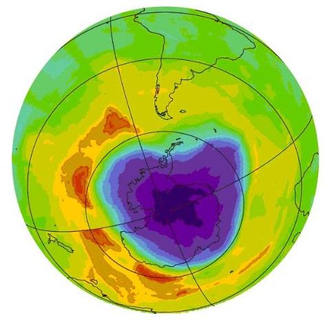 Ozonhål, Antarktis